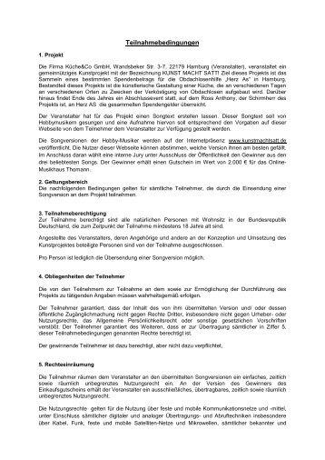 Teilnahmebedingungen (PDF) - 1. Herner Karnevalsgesellschaft ...
