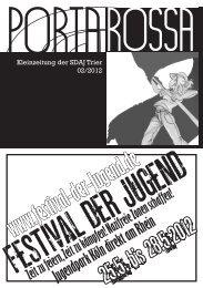 www.festival-der-Jugend.de - SDAJ Trier - Blogsport