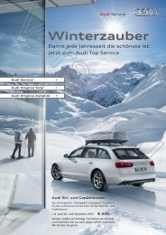 Winterzauber - Autohaus Perski ohg