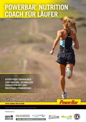 Running - PowerBar