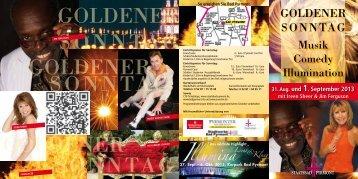 Goldener Sonntag 2013 - Staatsbad Pyrmont