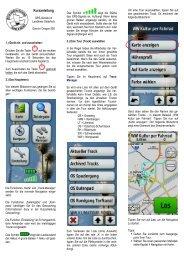 Kurzanleitung GPS-Gerät - Hamme Forum