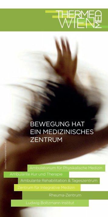 Allgemeine Informationen für Patienten - Therme Wien Med