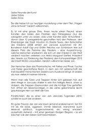 Originaltext - Kunstgalerie Bachlechner