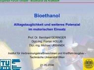 TU Wien Bioethanol