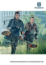 View our latest CLG-Catalogue - Husqvarna
