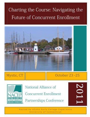Conference Program - NACEP