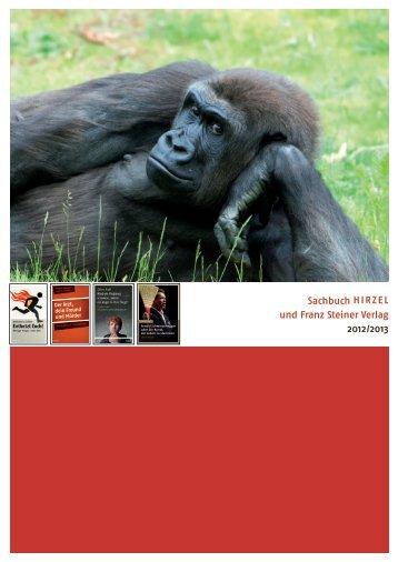 Sachbuch H i r z e l und Franz Steiner Verlag 2012/2013