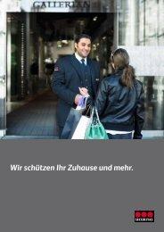 Wir schützen Ihr Zuhause und mehr. - Securitas