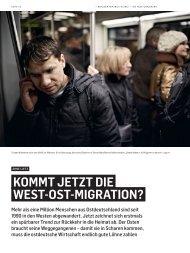 kommt jetzt die west-ost-migration? - Arne Lietz