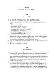 Satzung Turnverein Herxheim 1892 e.V.erneuert - TV-Herxheim eV ...