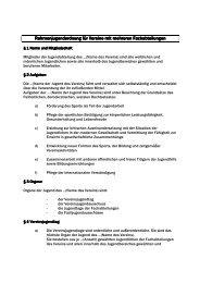 Rahmenjugendordnung für Vereine mit mehreren Fachabteilungen ...