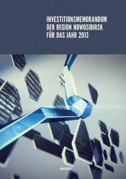 investitionsmemorandum der region nowosibirsk für das jahr 2013 ...