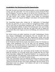 Geschichtliches über die Donauschwaben in Máriakéménd