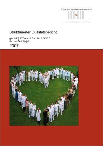 Gesetzl. Qualitätsbericht 2007 JKB .indd - KTQ