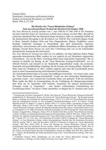 François Melis Demokratie, Liberalismus und Konterrevolution ...