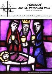 3. Ausgabe - Katholische Pfarrei St. Peter und Paul Markkleeberg