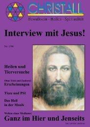 Interview mit Jesus! - Wissen der besonderen Art!