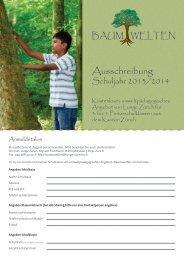 Ausschreibung - Lunge Zürich