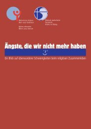 Ängste, die wir nicht mehr haben - Reformierte Kirchen Bern-Jura ...