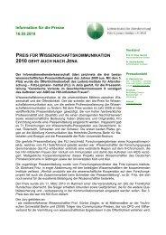 Pressemitteilung des FLI (pdf)