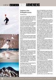 Berge Armeniens - Österreichischer Alpenverein Wien