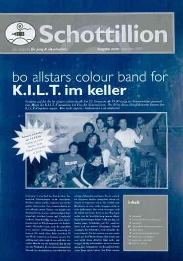 Schottillion Ausgabe Nr. 6 - Alt-Schotten