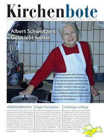 Albert Schweitzers Geist lebt weiter - Albert-Schweitzer-Spital in ...