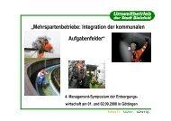 """""""Mehrspartenbetriebe: Integration der kommunalen Aufgabenfelder"""""""