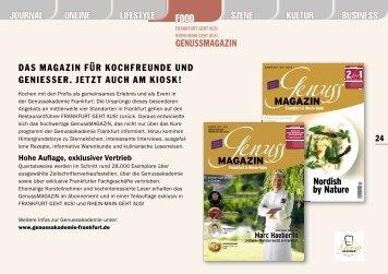 journal lifestyle food szene kultur genussakademie. Black Bedroom Furniture Sets. Home Design Ideas
