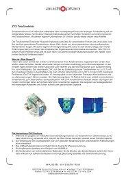 Printversion ZYX Tonabnehmer (PDF) - Audioplan