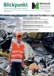 Blickpunkt Oktober 2012 - Meinhardt Städtereinigung GmbH & Co. KG