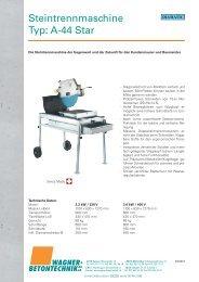 Detailbeschrieb (PDF 248 KB) - Wagner + Betontechnik AG