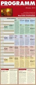 Flyer Kinoprogramm 10-2012 - Kino Zukunft - Seite 2