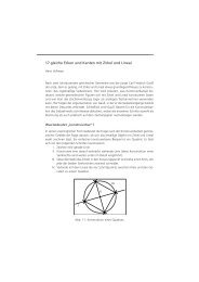 17 gleiche Ecken und Kanten mit Zirkel und Lineal