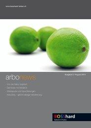 arbonews 2 2010 d (3829 kbyte) - Bosshard Farben + Co. AG