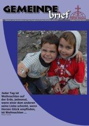Gemeinde Brief Dezember_2012 - Freie Evangeliums ...