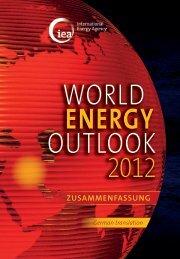 WEO 2012 Executive Summary - German version - International ...
