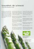 Alle wolleN ihN jetzt - Grand Vert - Leondinger Grünspargel - Seite 3