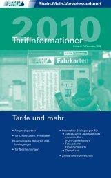 RMV Tarifinformationen - Arge-hrs.de