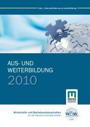 Folder downloaden - Umwelttechnik-Cluster