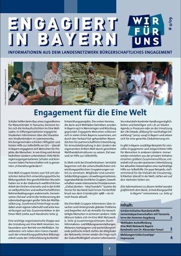 engagiert in bayern engagiert in bayern - Landesnetzwerk ...