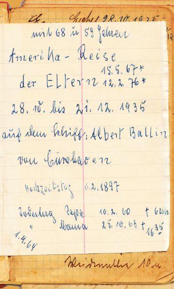 Opa Epkes 1935 In Amerika - Storyal