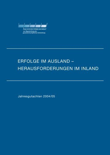 erfolge im ausland - Institute for Advanced Studies