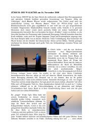 Lübeck: DAS RHEINGOLD Premiere am 7 - Suomen Wagner-Seura ry