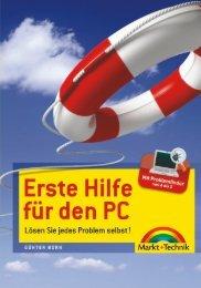 Erste Hilfe für den PC  - *ISBN 978-3-8272-4662-2 ...