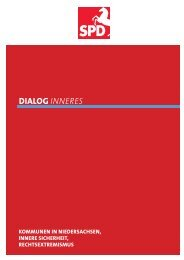 Dialogpapier Innenpolitik - Entdecke Niedersachsen
