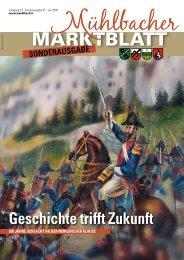 Mühlbacher Marktblatt 01/2009 - Sonderausgabe (3,41 MB)