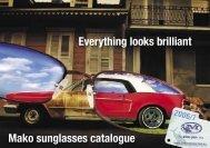 Mako Eyewear Catalogue - Mako Tackle