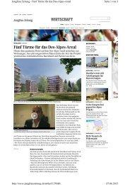 Artikel in der Jungfrauzeitung am 6. Juni 2013 0.28 MB PDF